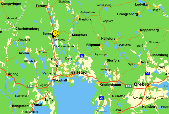 Karta Rottneros Park