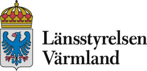 Logotyp Länsstyrelsen Värmland vänsterställd för att användas online